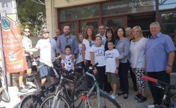 Δήμος Πεντέλης : Από το Δημαρχείο Πεντέλης πέρασε η ποδηλατοδρομία «Ποδηλατούμε ενωμένοι για το Κλίμα»