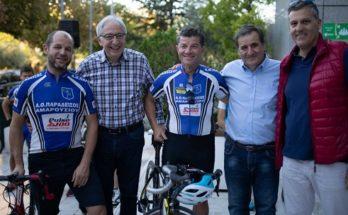 Με επιτυχία πραγματοποιήθηκε η ποδηλατοβόλτα στο Μαρούσι, στο πλαίσιο της Ευρωπαϊκής Εβδομάδας Κινητικότητας