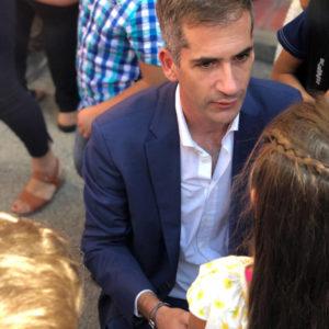 Κώστας Μπακογιάννης: Στον αγιασμό των 108 - 170 δημοτικών σχολείων και του 90ου νηπιαγωγείο στα Κάτω Πατήσια ο δήμαρχος Αθηναίων - Να δώσουμε τη μάχη για να έχουν όλα τα παιδιά μας τις ίδιες ευκαιρίες