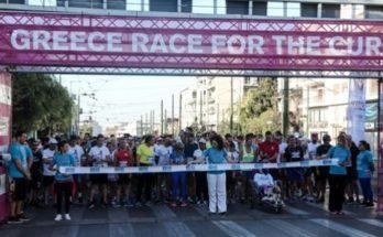 Ο γύρος της Αθήνας ενάντια στον καρκίνο του μαστού Greece Race for the Cure
