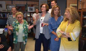 Το Δημαρχείο Αγίας Παρασκευής επισκέφθηκε αντιπροσωπεία από την αδελφοποιημένη πόλη SaintBrieuc της Γαλλίας