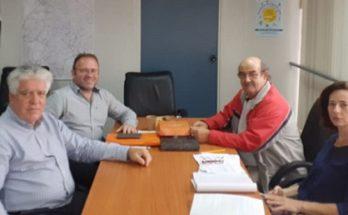 Συναντηση Δημαρχου με την Αντιπεριφερειάρχη Βορείου Τομέα Αττικής Λουκία Κεφαλογιάννη