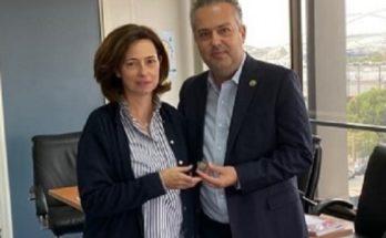 Mε την Αντιπεριφερειάρχη Βόρειου Τομέα Αττικής Συναντήθηκε Δήμαρχος Παπάγου – Χολαργού