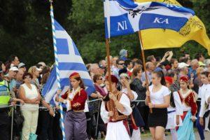Ο ελληνισμός της Μελβούρνη στην Αυστραλία τιμά την επέτειο το ΟΧΙ