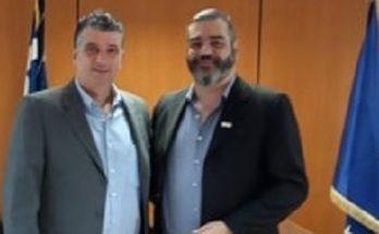 Mε τον Διευθύνοντα Σύμβουλο της ΚΤΥΠ Α.Ε Συναντήθηκε ο Δήμαρχος Βριλησσίων