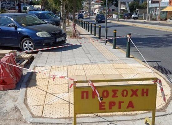 Σε εξέλιξη οι εργασίες αποκατάστασης πεζοδρομίων και διαβάσεων ΑμεΑ στον Δήμο Βριλησσίων
