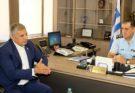 Συνάντηση του Περιφερειάρχη Αττικής με τον Γενικό Αστυνομικό Διευθυντή Αττικης Γ. Ψωμά στη Γ.Α.Δ.Α-Επίσκεψη στον Θάλαμο Παρακολούθησης Ελέγχου Κυκλοφορίας (Θ.Ε.Π.Ε.Κ)