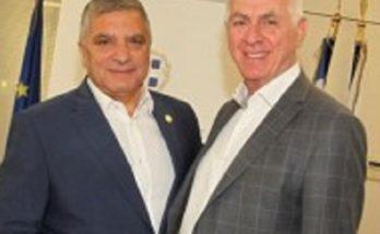 Με τον Δήμαρχο Περιστερίου Α. Παχατουρίδη συναντήθηκε σήμερα ο Περιφερειάρχης Αττικής Γ. Πατούλης