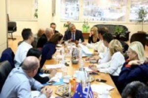 Ευρεία σύσκεψη υπό τον Περιφερειάρχη Αττικής Γ. Πατούλη για τα ρέματα της Αττικής
