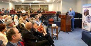 Γιώργος Πατούλης : Στο 5ο Πανελλήνιο συνέδριο Ιαματικής Ιατρικής στην πόλη Καμένα Βούρλα.