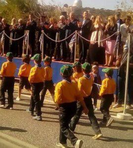Ο Πρόεδρος του Σ.Π.Α.Π. και Αντιδήμαρχος Πεντέλης Βλάσσης Σιώμος στον εορτασμό της 28ης Οκτωβρίου σε Πεντέλη και Νέα Πεντέλη