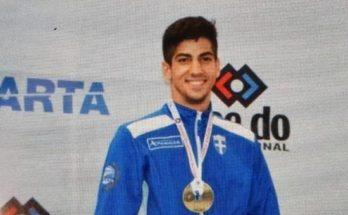 Μεγάλη επιτυχία από τον Στέφανο Ξένο το χρυσό μετάλλιο στο Παγκόσμιο Πρωτάθλημα της Χιλής στο Καράτε Κ-21