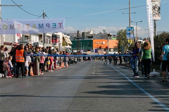 Δήμος Χαλανδρίου: Παραλαβή αριθμών για τους αγώνες δρόμου μικρών παιδιών μαραθώνιας διαδρομής