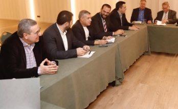 Τελευταία αποχαιρετιστήρια συνεδρίαση με Πρόεδρο τον Κώστα Αγοραστό και των μελών του ΔΣ της ΕΝΠΕ