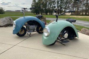 Φτιάχνουμε μηχανάκι μόνη μας, από φτερό Volkswagen Beetle