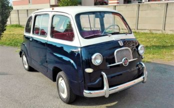 Fiat Multipla ένα αυτοκίνητο επανάσταση για την εποχή του
