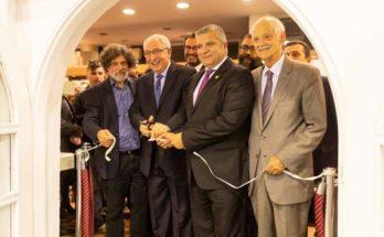 Την 57η Πανελλήνια Έκθεση Κεραμικής εγκαινίασε ο Δήμαρχος Αμαρουσίου Θ. Αμπατζόγλου, παρουσία πλήθους κεραμιστών και φίλων της κεραμικής τέχνης