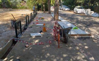 Εργασίες κατασκευής πεζοδρομίων σε πολλά σημεία της Δημοτικής Ενότητας Νέας Ερυθραίας.