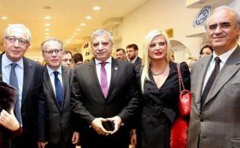 Στα εγκαίνια της 57ης Πανελλήνια Έκθεσης Κεραμικής Τέχνης η Πρόεδρος του Ομίλου για την UNESCO Βορείων Προαστίων και δημοτική σύμβουλος Αμαρουσίου Μαρίνα Πατούλη Σταυράκη