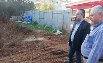 Ξεκίνησαν οι εργασίες για την κατασκευή ΚΑΠΗ – Πολυϊατρείων Παπάγου