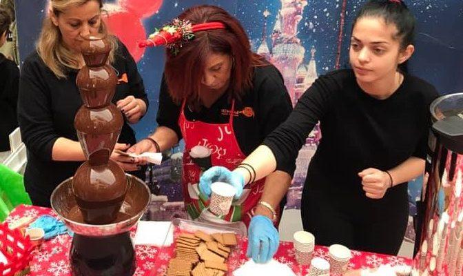 Η καθιερωμένη γιορτή σοκολάτας από τον Δημοτικό Οργανισμό Κοινωνικής Μέριμνας και Προσχολικής Αγωγής στο Εμπορικό Κέντρο Holargos Center.