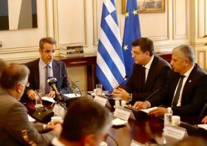 Δήλωση του Περιφερειάρχη Αττικής Γ. Πατούλη μετά τη δεύτερη συνάντηση του Πρωθυπουργού Κυριάκου Μητσοτάκη με τους 13 Περιφερειάρχες της χώρας