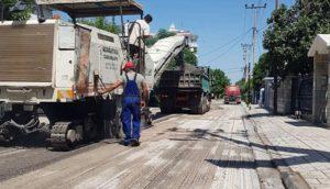 Ασφαλτοστρώσεις και εργασίες δικτύων στο Δήμο Πεντέλης