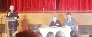 Σήμερα Σάββατο 23/11 η Ελένη Γλύκατζη- Αρβελέρ ανακηρύχτηκε επίτιμη δημότισσα στο Δημοτικό Θέατρο Πεύκης