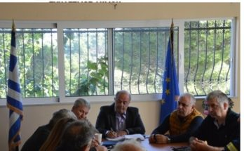 O Πρόεδρος του Σ.Π.Α.Π. και Γενικός Γραμματέας Εποπτικού Συμβουλίου της Κ.Ε.Δ.Ε. Βλάσσης Σιώμος συμμετείχε στην Σύσκεψη του Συντονιστικού Τοπικού Οργάνου Πολιτικής Προστασίας του Δήμου Διονύσου.