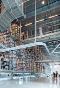 Στη βιβλιοθήκη του Πανεπιστημίου Κορνέλ τα βιβλία αιωρούνται