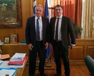 Οι αγωγές του Ελληνικού Δημοσίου στο επίκεντρο της συνάντησης του Υπουργού Αγροτικής Ανάπτυξης & Τροφίμων με τον Δημάρχο Βριλησσίων