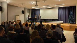 Δήμος Ηρακλείου : Εκδήλωση βράβευσης των νέων φοιτητών των παιδιών που έδωσαν εξετάσεις και πέρασαν στα ΑΕΙ και τα ΤΕΙ της χώρας