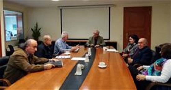 Συνάντηση του Δημάρχου Αμαρουσίου Θεόδωρου Αμπατζόγλου με τον Σύλλογο Ποντίων Αμαρουσίου «Νίκος Καπετανίδης» 2/12