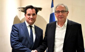 Θεόδωρος Αμπατζόγλου :Συναντήθηκα με τον Υπουργό Ανάπτυξης και Επενδύσεων Άδωνι Γεωργιάδη και συζητήσαμε μαζί για τα μεγάλα προβλήματα του Αμαρουσίου.