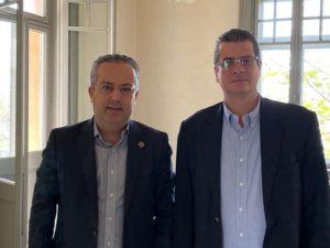Ενδιαφέρουσα συνάντηση του Δήμαρχου Παπάγου Χολαργού Ηλία Αποστολόπουλο με τον Πρόεδρο του Πράσινου Ταμείου Στάθη Κ. Σταθόπουλο