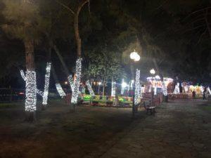 Παπάγου Χολαργού: Christmas Festival Park, στο Άλσος Χολαργού