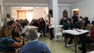 Στη Χριστουγεννιάτικη Εκδήλωση του Κ.Α.Π.Η. παραβρέθηκε η Δήμαρχος Πεντέλης Δήμητρα Κεχαγιά.