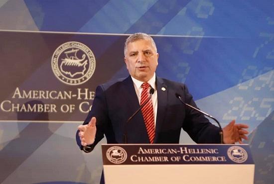 Ο Περιφερειάρχης Αττικής Γιώργος Πατούλης : Στο 30ο ετήσιο συνέδριο του Ελληνο-Αμερικανικού Επιμελητηρίου «Greek Economic Summit-Turning the Odds».