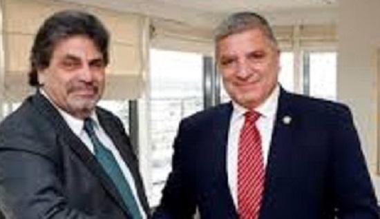 Συνάντηση του Περιφερειάρχη Αττικής Γ. Πατούλη με τον Πρόεδρο του Νομικού Συμβουλίου του Κράτους Κωνσταντίνο Χαλκιά