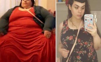 Μια γυναίκα έφτασε να ζυγίζει πάνω από 296 κιλά και όμως τα κατάφερε και έχασε 180 ολόκληρα κιλά και ξανά κέρδισε την ζωή της