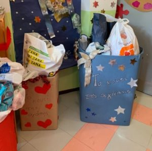 """""""Εντυπωσιακή στήριξη από τα σχολεία και τους παιδικούς σταθμούς στο Κοινωνικό Παντοπωλείο του Δήμου"""""""