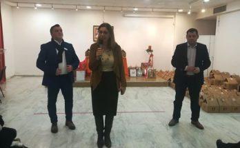 """""""Στη Χριστουγεννιάτικη Εκδήλωση για τους επωφελουμένους του Κοινωνικού Παντοπωλείου ο Δήμαρχος"""""""