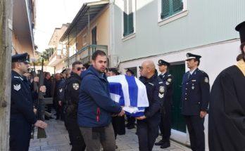 Στην Λευκάδα το τελευταίο αντίο της 25χρονης αστυνομικού Αφροδίτης