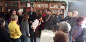 Τελετή Αγιασμού στο ΚΑΠΗ του Δήμου Βριλησσίων