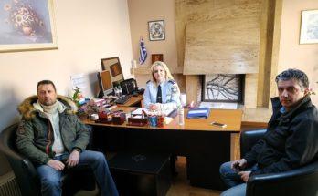 Βριλήσσια :Συνάντηση του Δημάρχου Ξ. Μανιατογιάννη με το .Α.Τ. Βριλησσίων με θέμα την ασφάλεια των δημοτών