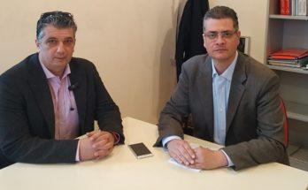 Συνάντηση Δημάρχου Βριλησσίων Ξ. Μανιατογιάννη με τον Πρόεδρο του Πράσινου Ταμείου