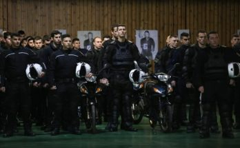 Μετά από σκληρή εκπαίδευση τους δρόμους άλλοι 1.183 αστυνομικοί της ομάδας Δίας