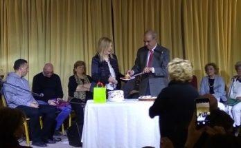 Το ΚΕΜΜΕ έκοψε την πρωτοχρονιάτικη βασιλόπιτα του στην ανακαινισμένη βίλα Μπότση