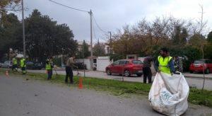 Κηφισιά: Συντήρηση αλλά και δεντροφύτευση στη νησίδα στην Χαριλάου Τρικούπη