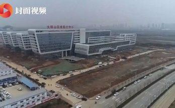 Απίστευτο: Σε 5 μέρες έφτιαξαν το νοσοκομείο στην Κίνα για τον κοροναϊό